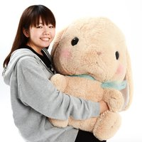 Pote Usa Loppy Chappy Rabbit Plush (Super Jumbo)