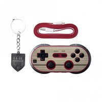 8Bitdo FC-Style Bluetooth Controller for Nintendo Switch/iOS/Android/PC