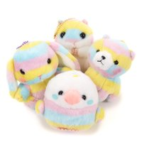 Amuse Rainbow Animals Ball Chain Plush Collection