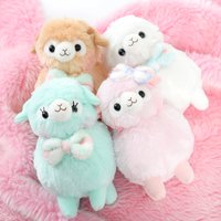 Alpacasso Kids Fuwamoko Ribbon Alpaca Plush Collection (Standard)