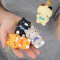 Sasurai no Tabineco Mikemura-san Mascot Figures