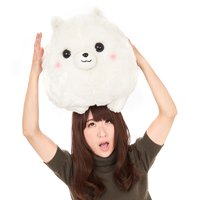 Fuwa-mofu Pometan Deka Big Pometan Dog Plush