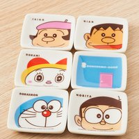 Doraemon 8-Piece Small Plate Set