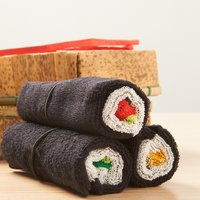 Tekkamaki, Kappamaki & Nattomaki Towel Set