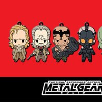 Metal Gear Solid Rubber Key Holder Collection Vol. 2