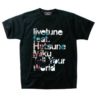 livetune feat.Hatsune Miku Tell Your World Typography T-Shirts