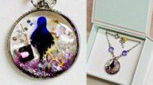 【PUELLA MAGI MADOKA MAGICA】 Homura motif accessories