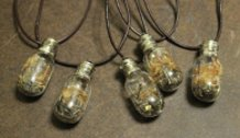 Light Bulb Necklaces