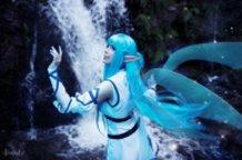 Asuna Yuuki Undine (Sword Art Online SAO) Cosplay by Calssara