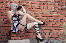 NieR ~ Kaine - cheeky boy, aren't cha.