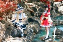 Marisa and Reimu