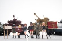 1/35 GARUPAN Commander set (Girls und Panzer)