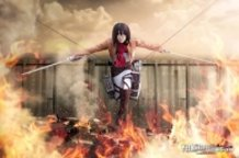 mikasa ackerman from Attack on Titan (Shingeki no Kyojin / 進撃の巨人 )