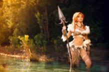 Nidalee (League of Legends) Cospla by Calssara