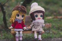 Miki and Haruka on New Years Day