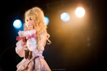 Alodia on stage