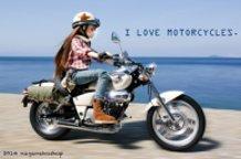 I Love Motorcycles!