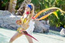 Rikku Thief (Final Fantasy X-20) Cosplay by Calssara