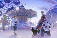 Rooftop Amusement Park