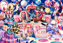 Radiocat and CMYK's magical party night