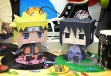 Naruto & Sasuke Papercraft