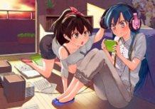 Chihaya and Hibiki