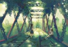 a railroad bridge
