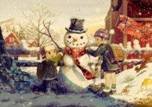 Noteworthy Snowman