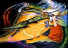 Sword girl -black-
