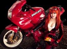 Asuka Langley ( Biker Version )