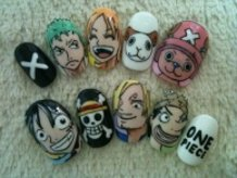 One Piece Nails!!!!
