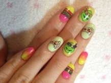 Teenage Mutant Ninja Turtles Nails!!