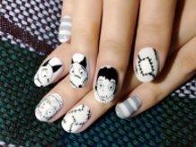 Frankenweenie Nails♪