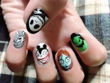 The Nightmare Before Christmas Nails ♪