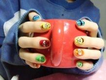 M&M's Nail Art ♪