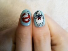 Ghostbusters Nail Art!!