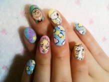 Snoopy Nails♪