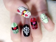 Mobile Suit Gundam Nails