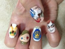 Castle in the Sky Nails