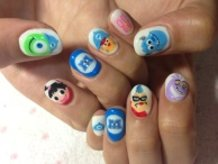 Monsters, Inc. Nails!
