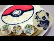 Pokemon X Y Pancakes! Chespin , Fennekin , Froakie , Pancham