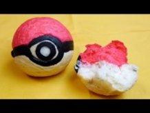 Bread Pokéball without Pokémon .Btw This is a Pokéball, not Unown , not Hitotsume-Titan  !