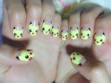 Pikachu Nails!!