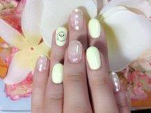 Rilakkuma Kiiroitori Nails