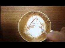 """Today's Leisure Time Cappuccino, """"Eli Ayase @Love Live!"""""""