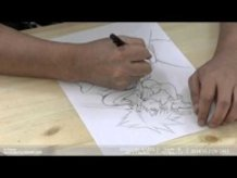 Kingdom Hearts - HD 2.5 ReMix - Behind the scenes illustration movie