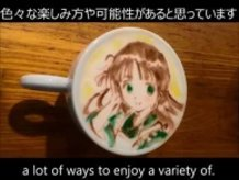 "Chiya from ""Is the order a rabbit?"" - BELCORNO's Latte Art"