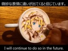 "Syaro from ""Is the order a rabbit?"" - BELCORNO's Latte Art"