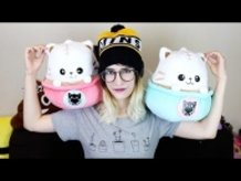 Famous Youtuber Mimei Reviews Latte Kitten Plushies from TOM!
