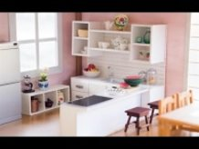 DIY Dollhouse - Miniature Kitchen for Nendoroid, Dolls & Action Figures